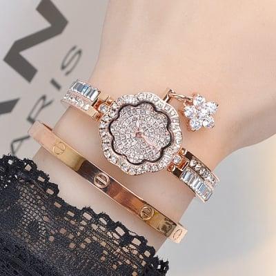 Луксозен дамски часовник H041