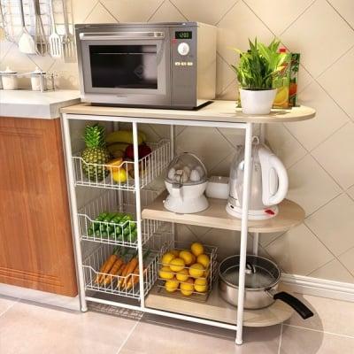 Голяма и удобна кухненска етажерка