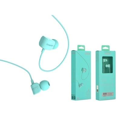 СТЕРEО СЛУШАЛКИ REMAX със силиконова тапа и микрофон