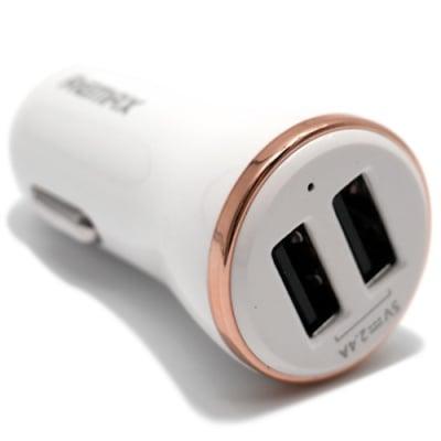Зарядно устройство Remax Dolphin 3.4А/ 2x Lighting and Micro USB изхода / бял