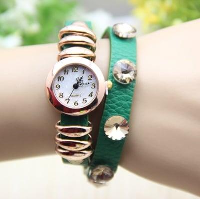 Дамски кожен часовник Rings