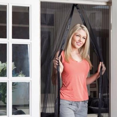 Магнитен комарник за врата