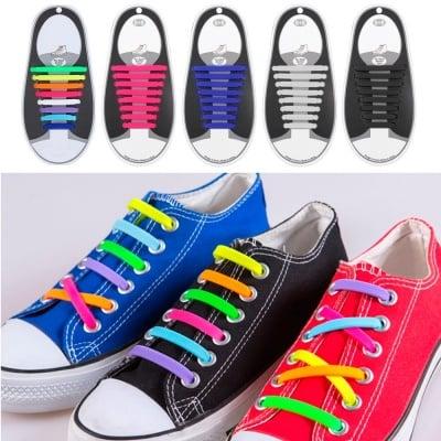 Силиконови връзки за обувки