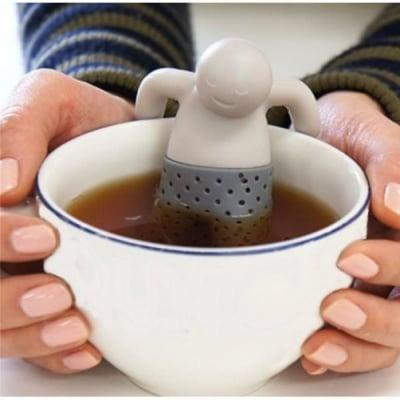 Силиконова цедка за чай