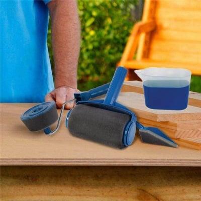Комплект валяци за боядисване с резервоар
