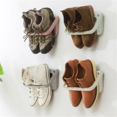 Стойка за обувки на стена