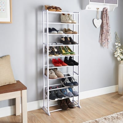 Голяма етажерка за обувки