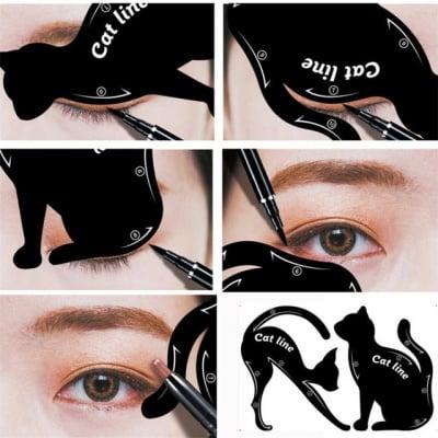 Мултифункционални шаблони за очна линия и сенки