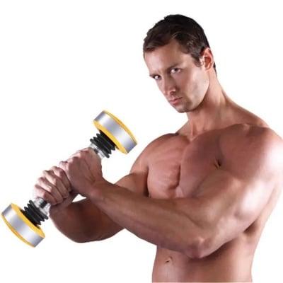 Вибриращ дъмбел за стегнато тяло