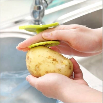Пластмасова белачка за картофи