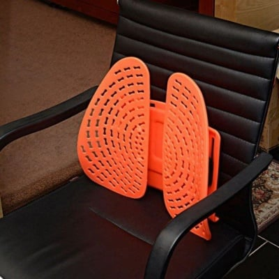 Ергономична облегалка за автомобил и стол