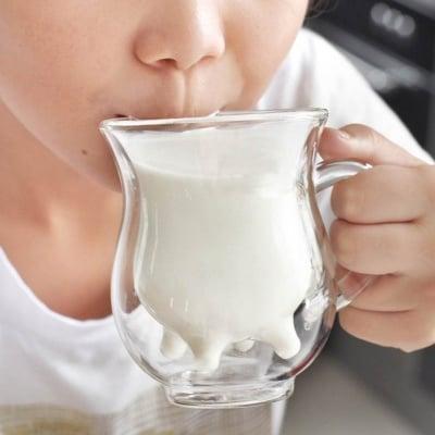 Стъклена чаша за мляко Виме