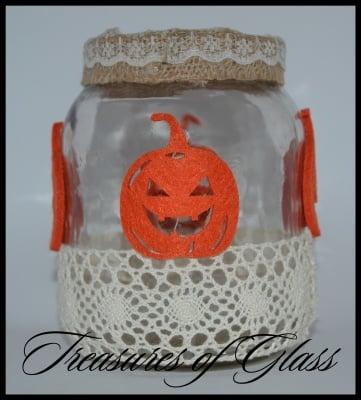 Свещник Тиква за Хелоуин