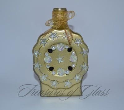 Подарък Златна бутилка