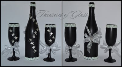 Подарък Бутилка и чаши за вино