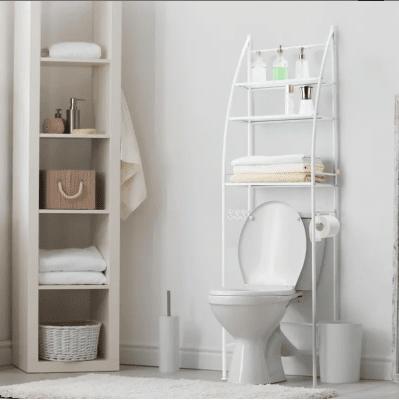Стойка за баня с 3 рафта за над тоалетна