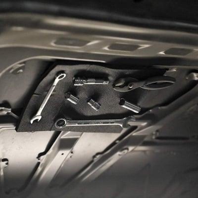 Гъвкава магнитна подложка за инструменти