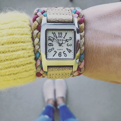 Дамска гривна с часовник H018