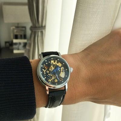 Дамски механичен часовник H027 Ladies