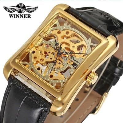 Луксозен мъжки механичен часовник H031