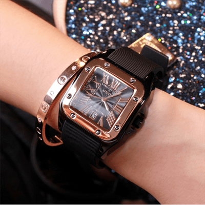 Луксозен дамски часовник H053
