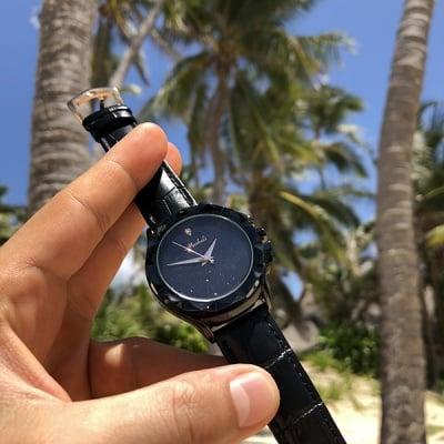 Дамски кожен часовник H054