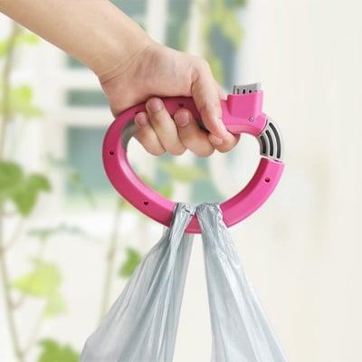 Удобна дръжка за пазарски чанти