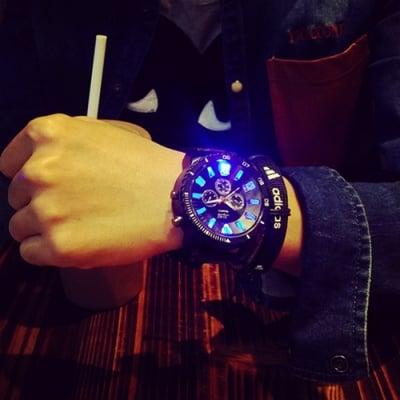 Спортен силиконов часовник Lights