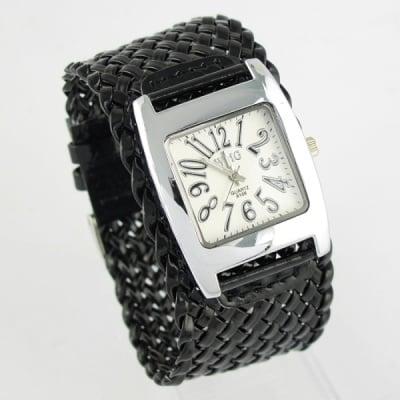 Дамска гривна с часовник H018 Black