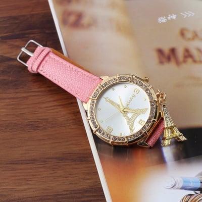 Дамски кожен часовник Paris