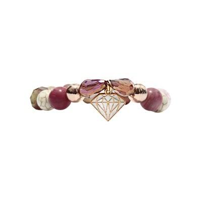 Pink Diamond ръчно изработена гривна