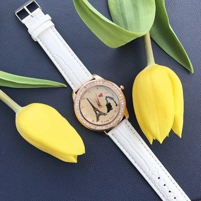 Дамски кожен часовник  Romance