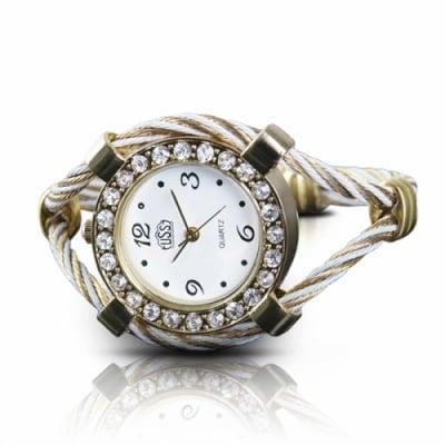 Часовник гривна с кристали