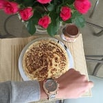 Луксозен дамски часовник H045