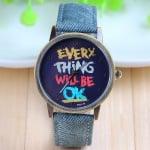 Унисекс часовник Jeans