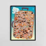 Скреч постер за 99 неща, които да направиш през живота си