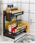 Стилен кухненски органайзер за подправки