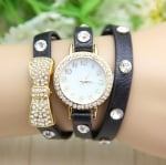 Дамски кожен часовник Bow