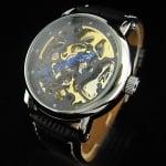 Луксозен мъжки механичен часовник H027
