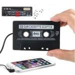 Касета адаптер за CD MP3 плеър
