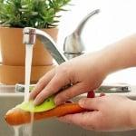 Ръкохватка за почистване на плодове и зеленчуци