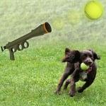 Базука за автоматично изстрелване на тенис топки