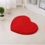 Постелка с формата на сърце