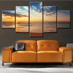 Картина пано за стена от пет части