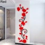 3D стикер за стена