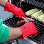 Кухненска силиконова огнеупорна ръкавица
