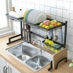 Стоманена сушилня за посуда
