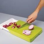 Кухненска дъска с подвижна тавичка