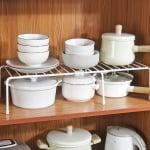 Разтягаща и практична кухненска етажерка