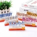 Свещички Happy Birthday